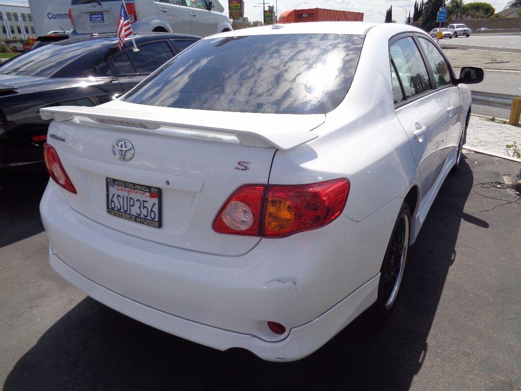 ... 2010 Toyota Corolla S ...